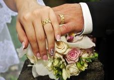 Perfect huwelijk Stock Afbeeldingen