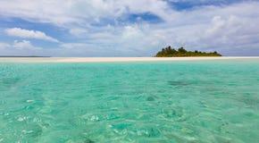 Perfect island Stock Image