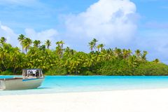 Perfect island Royalty Free Stock Images