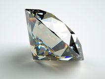 Perfect jewel. With ideal reflection and caustics Royalty Free Stock Photo