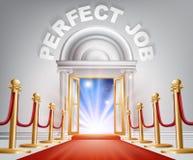 Perfect Job Red Carpet Door Stock Photos