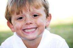 perfect leendet Fotografering för Bildbyråer