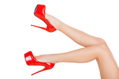 Perfect legs. Royalty Free Stock Photo
