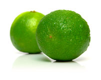 Perfect Lime Royalty Free Stock Photos