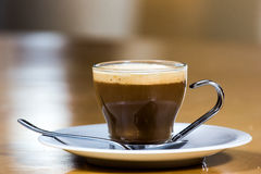 A perfect macciato Royalty Free Stock Photography