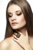 Perfect makeup Royalty Free Stock Photos
