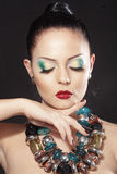 Perfect makeup Royalty Free Stock Photography