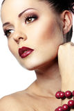 Perfect makeup Royalty Free Stock Images