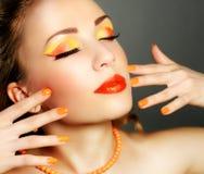 Perfect Makeup Fotografia Stock