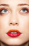 Perfect makeup on a model Royalty Free Stock Images