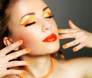 Perfect Makeup Stock Photography