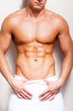 Perfect male body. Stock Photography
