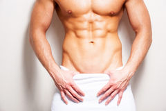 Perfect male body. Stock Images