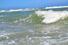 perfect Mediterranean sea wave Stock Photography