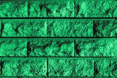Perfect mint green grayish light greenish high resolution natural urban Brick wall Background. Close-up of a stylish deco wall backdrop, perfectly designed royalty free stock photo