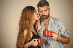 Perfect morning with coffee. Royalty Free Stock Photo