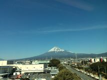 Perfect Mount Fuji Royalty Free Stock Images