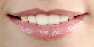 Perfect mouth Stock Photos