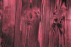 Perfect nieregularni starzy ciemni jaskrawi drewniani szalunek powierzchni tekstury półdupki Obraz Stock