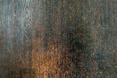 Perfect noble darkbrown old ancient wooden surface decoration ba. Perfect noble dark brown old ancient wooden surface decoration background with decent scratches Royalty Free Stock Photography