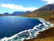 Chapman`s peak photographed at  Cape Town, South Africa