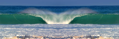 Perfect Ocean Water Wave Stock Photos