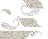 Perfect paisley seamless design. decorative design. Royalty Free Stock Photo