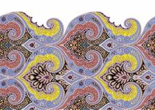 Perfect paisley seamless design. decorative design. royalty free illustration