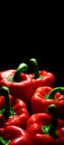 Perfect peppers with drops of water Royalty Free Stock Image