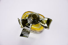 Perfect perfume. On a white background Royalty Free Stock Images
