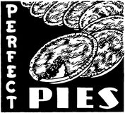 Perfect Pies Royalty Free Stock Photos