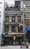 The Perfect Pint Irish Restaurant in Manhattan Stock Photography
