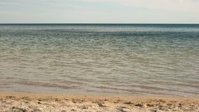 Perfect place for summer vacation. Surf and swim. Sky with seashore. Sand with water. Perfect place for summer vacation. Surf and swim stock footage