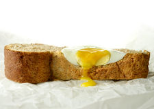 Perfect Poached Egg Royalty Free Stock Photos