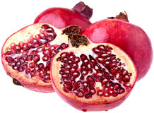 Perfect Pomegranates Royalty Free Stock Photography