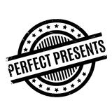 Perfect Presents rubber stamp Royalty Free Stock Images