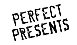 Perfect Presents rubber stamp Royalty Free Stock Image