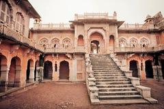 Perfect przykład kontaminacja Islamskiej i Hinduskiej świątyni architektura w India Zdjęcie Stock