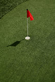 Perfect Putting green Stock Images