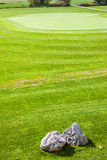 Perfect putting green Stock Photo