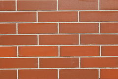 Perfect red brick background Stock Photo