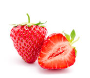Perfect red ripe strawberry  Stock Photography