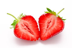 Perfect red ripe strawberry  Stock Photo