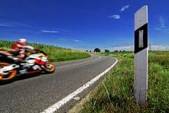 Perfect ride - biker dream Stock Image