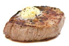 Perfect roast pork tenderloin fillet steak. Royalty Free Stock Images
