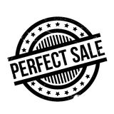 Perfect Sale rubber stamp. Grunge design with dust scratches. Effects can be easily removed for a clean, crisp look. Color is easily changed Stock Images