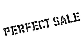 Perfect Sale rubber stamp Royalty Free Stock Images
