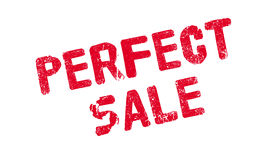 Perfect Sale rubber stamp Stock Photography