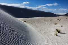 Perfect sand hills Stock Photo