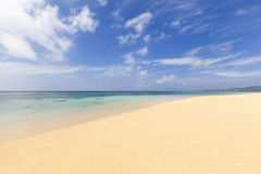 Perfect Sandy Beach Royalty Free Stock Photography